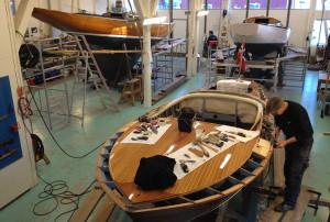 Restaurering av båt