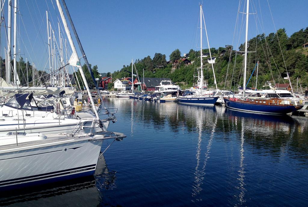 Bryggeplasser båt