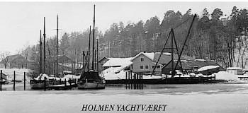 Holmen Yachtværft historie