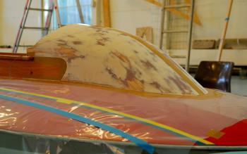 Loppe - Konstruksjon, bygging og montering av ny vindskjerm