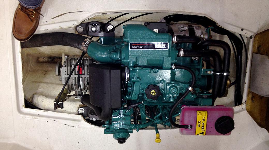 Ny motor i Saga 20