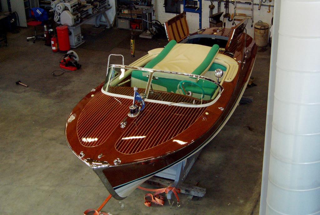 Vedlikehold båt